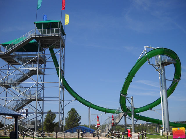 Pirate's Plunge Water Slide | Castaway Cove Water Park - Wichita Falls, TX