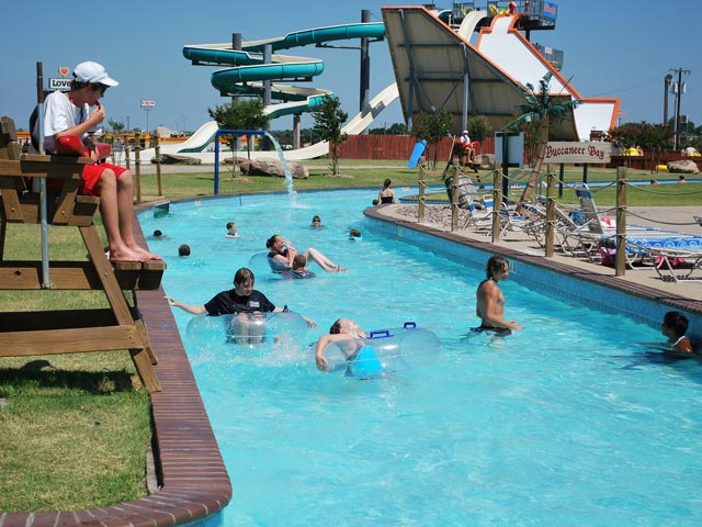 Nellie's Rolling River | Castaway Cove Water Park - Wichita Falls, TX