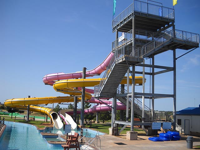 Storm Watch Tower | Castaway Cove Water Park - Wichita Falls, TX