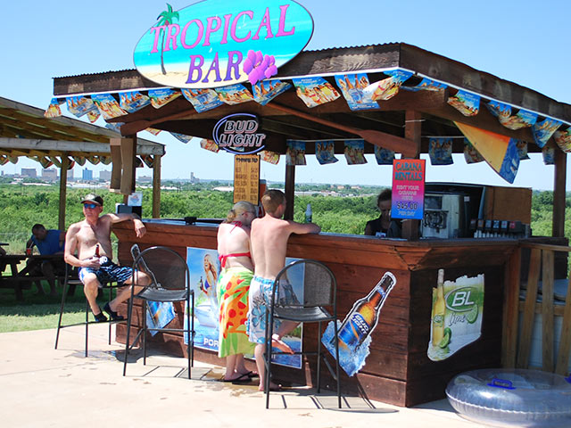 Tropical Bar | Castaway Cove Water Park - Wichita Falls, TX